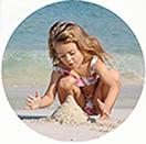 Пляжи и дно моря в Мирном песчаные